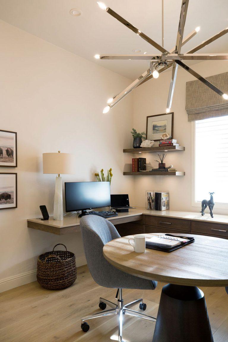Home Office Redo by PepperJack Interiors Loomis CA